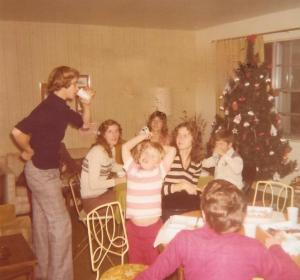 Teresa's Brother and Sisters Christmas Eve 1976